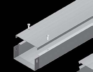 Cable Trunking-With Cover