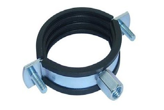 M8+M10 Pipe Clamp with EPDM